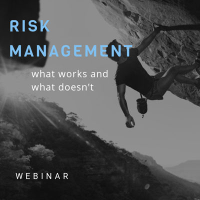 risk management webinar