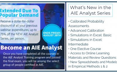 Due to Popular Demand HDR Extends Offer on New AIE Analyst Series