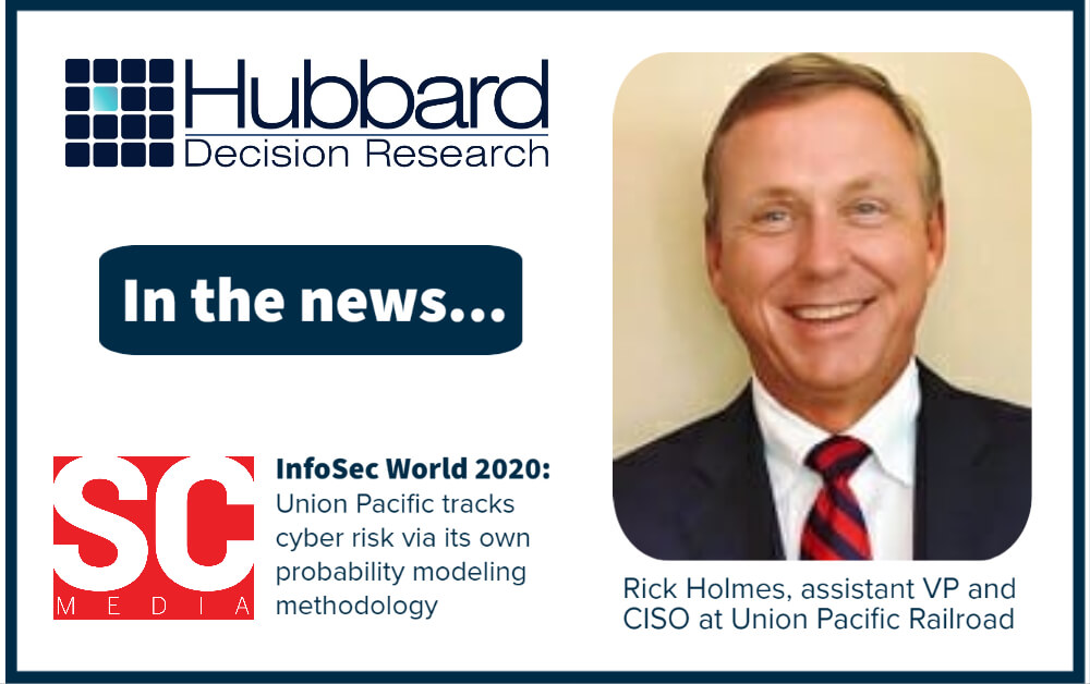 Union Pacific CISO Gives a Shout Out to HDR's AIE Framework